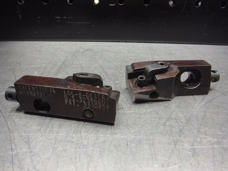Valenite Insert Cartridges Qty2 MSVNR12CA4 (LOC2740B)