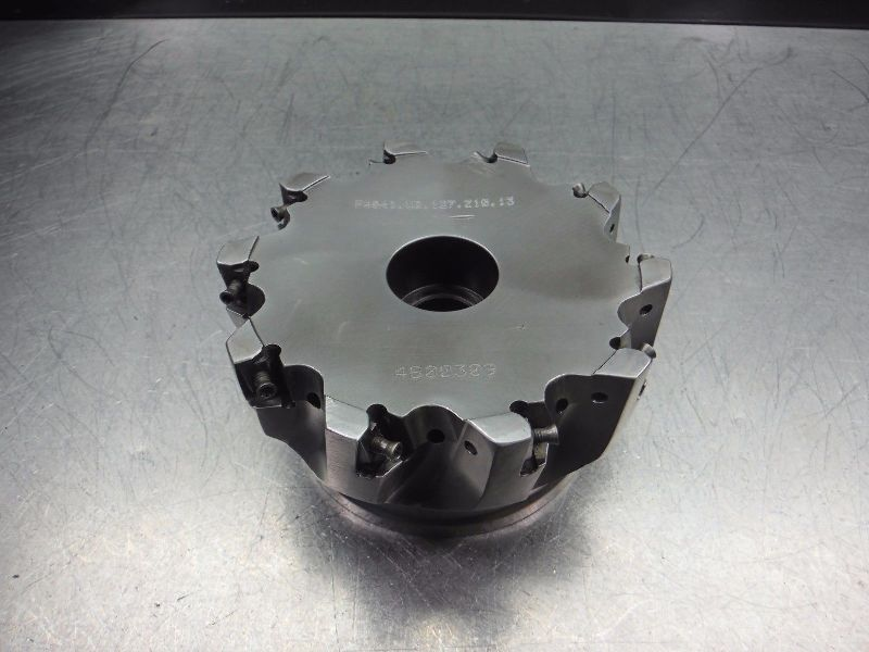"""Walter 5"""" Indexable Facemill 1.5"""" Arbor F4041 UB 127 Z10 13 (LOC2687A)"""