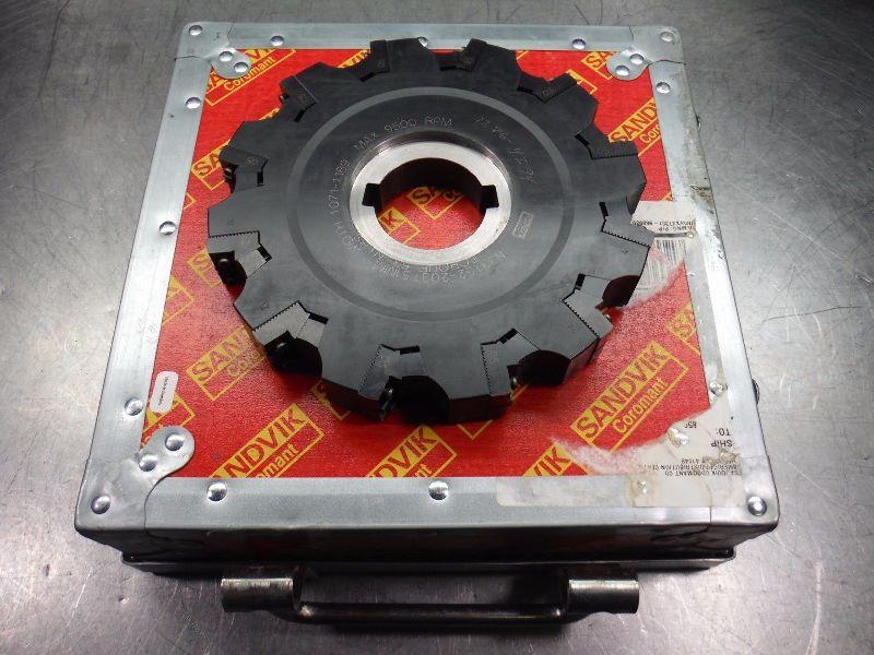 """Sandvik 8"""" CoroMill 331 Milling Cutter 1.071-1.189"""" N331.52-203T51MM (LOC2708D)"""