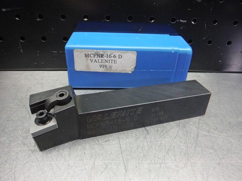 "Valenite Lathe Tool Holder 1"" x 1"" Shank 6"" OAL MCFNR-16-6 D (LOC2683A)"