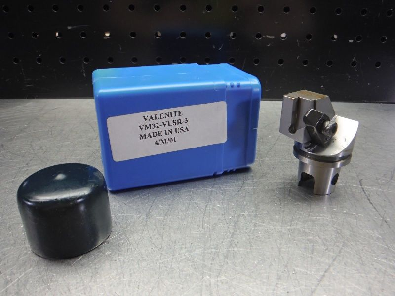 Valenite VM / KM 32 Indexable Parting & Grooving Head VM32-VLSR-3 (LOC2763D)