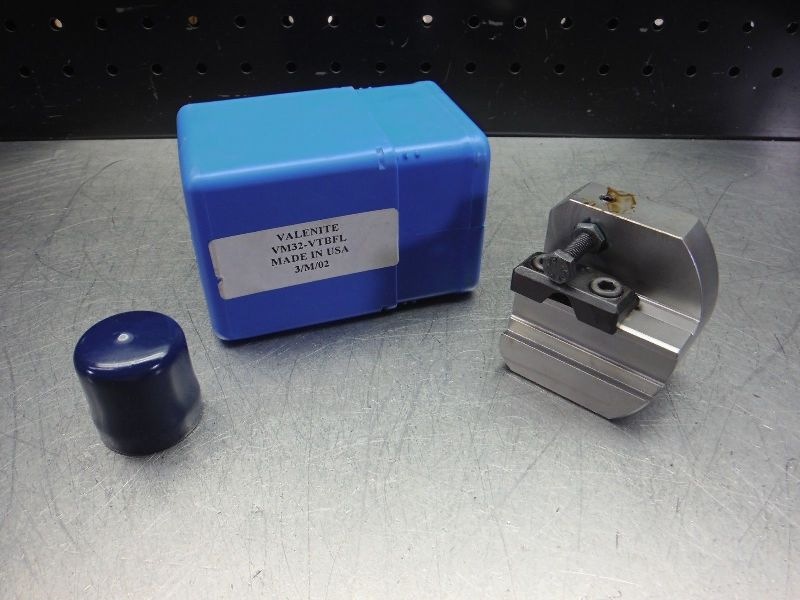 Valenite VM / KM 32 Tool Block For Part and Groove Blades VM32-VTBFL (LOC2843B)