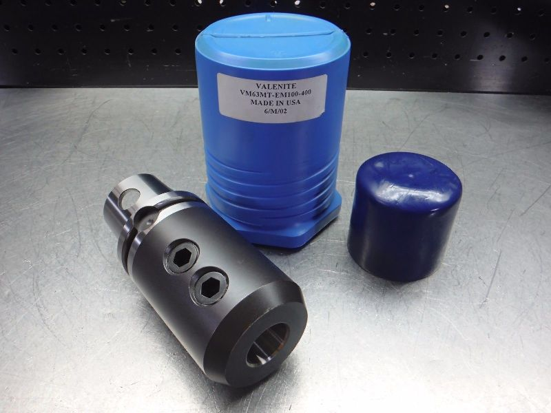 "Valenite VM/ KM63 1"" Endmill Holder VM63MT-EM100-400 (LOC2808D)"