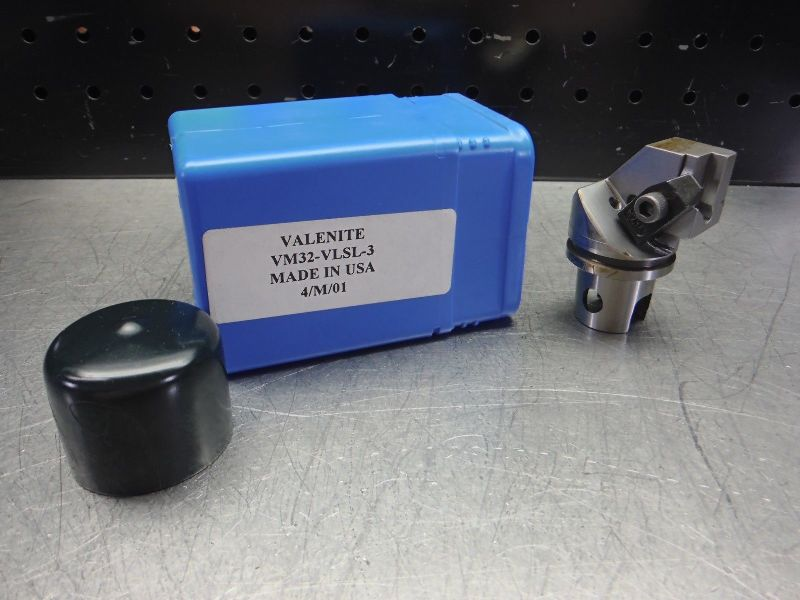 Valenite VM / KM 32 Indexable Parting & Grooving Head VM32-VLSL-3 (LOC2843D)