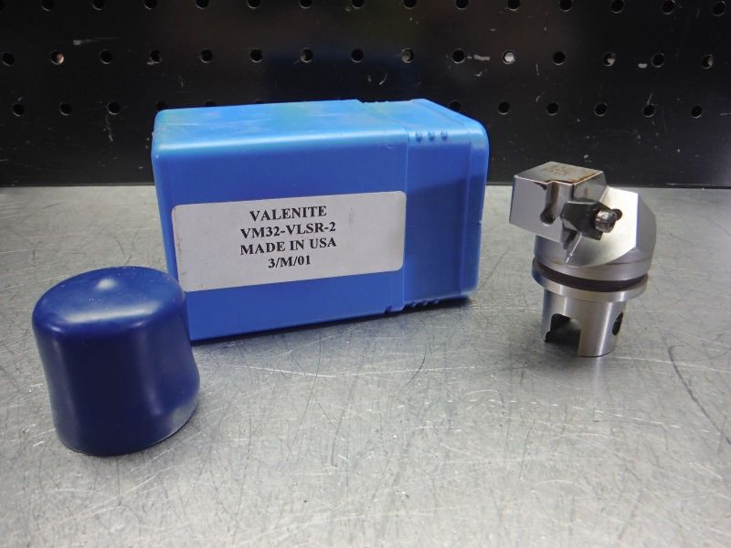 Valenite VM / KM 32 Indexable Parting & Grooving Head VM32-VLSR-2 (LOC2843B)