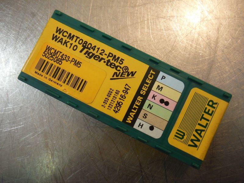Walter Carbide Inserts Qty10 WCMT 080412 PM5 WAK10 (LOC2120A)
