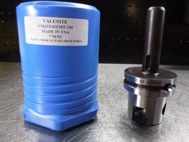 Valenite VM / KM63 XMZ Morse Taper 1 VM63XMZMT-195  (LOC1141B)
