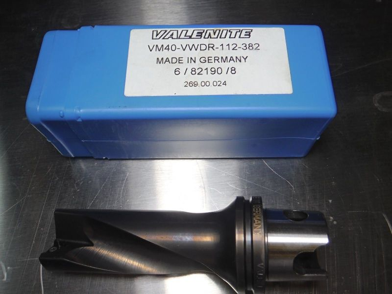 "Valenite KM40 1.25/"" indexable Drill KM40 VWDR 1250 LOC1363C"