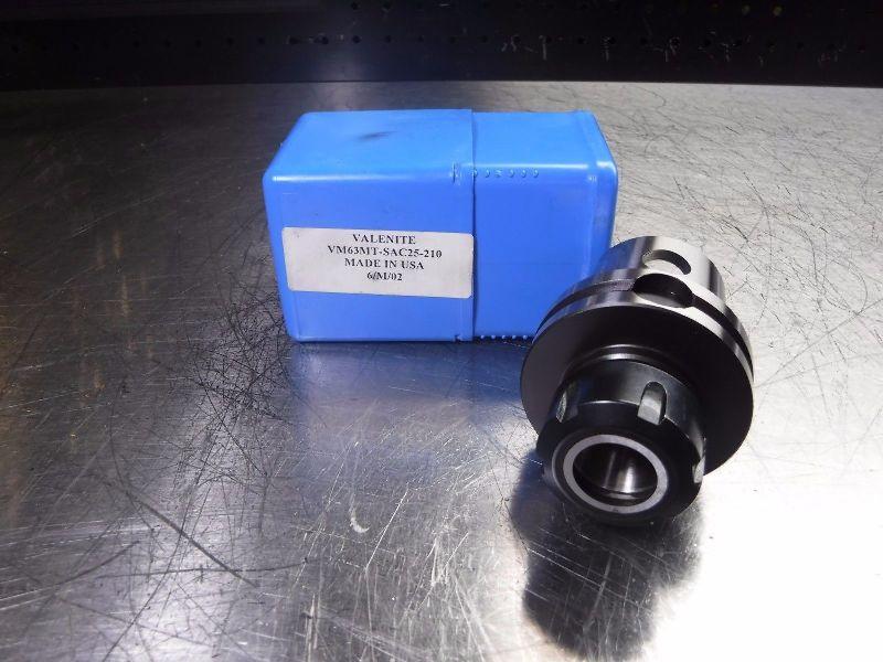 Valenite KM63 VM63 ER25 Collet Chuck VM63MT-SAC25-210 (LOC983B)
