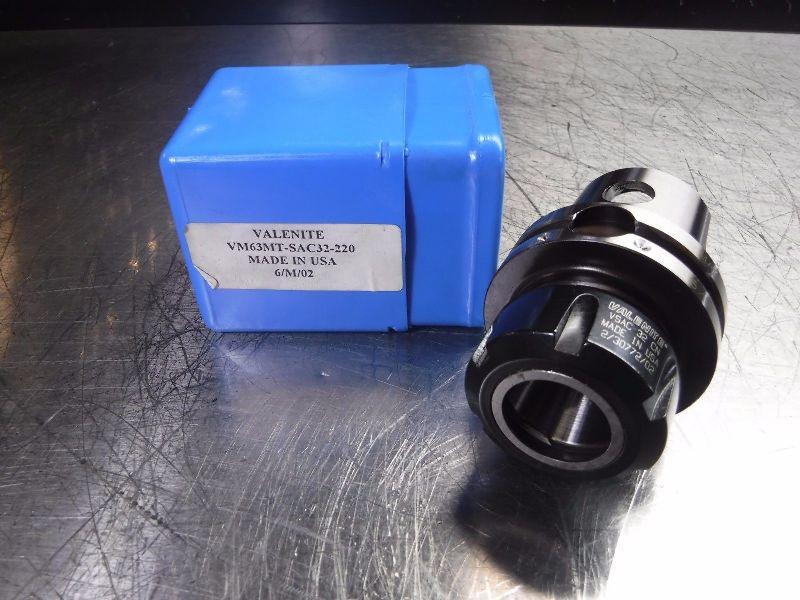 Valenite KM63 VM63 ER32 Collet Chuck VM63MT-SAC32-220 (LOC983A)