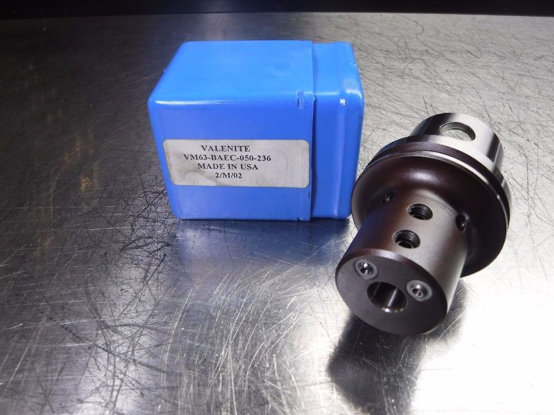 "Valenite KM63 VM63 1/2"" Boring Bar Holder VM63-BAEC-050-236 (LOC969B)"