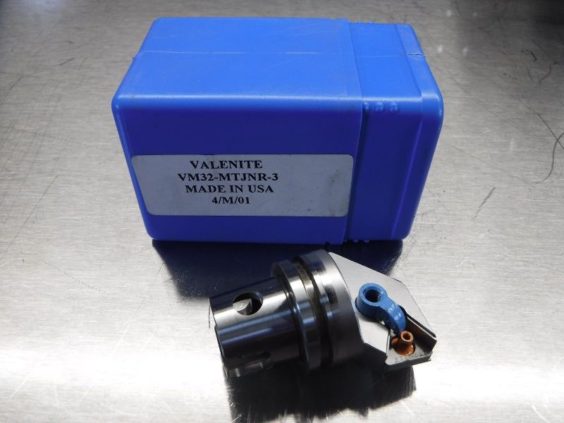 Valenite VM / KM 32 Indexable Coolant Through Boring Head VM32 MTJNR3 (LOC739)