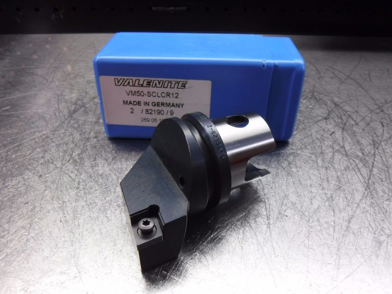 Valenite VM / KM50 Indexable Turning Head VM50-SCLCR12 (LOC1848B)