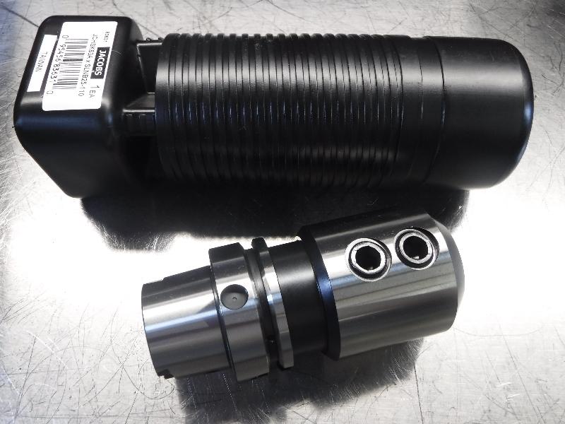 Jacobs HSK-A 63  25mm Endmill Holder 110mm Pro JCHSK63AxSLNB25-110 (LOC265)