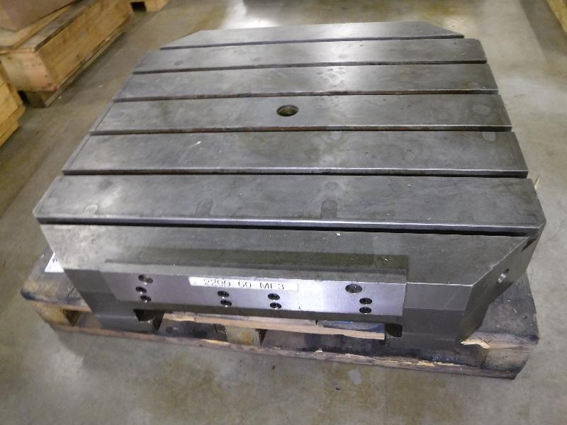 "Toyoda CNC Horizontal Machining Center Pallet Table 41.3"" x 41.3"" FA-1050"