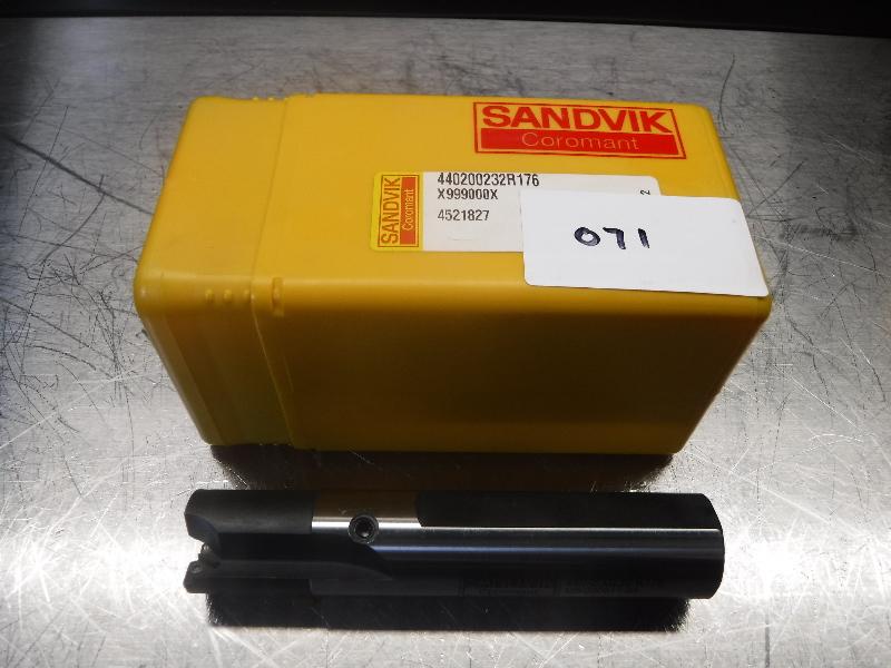 "Sandvik 1"" Indexable Countersink w/ 0.4125"" Pilot 440-200232 R176 (LOC671)"