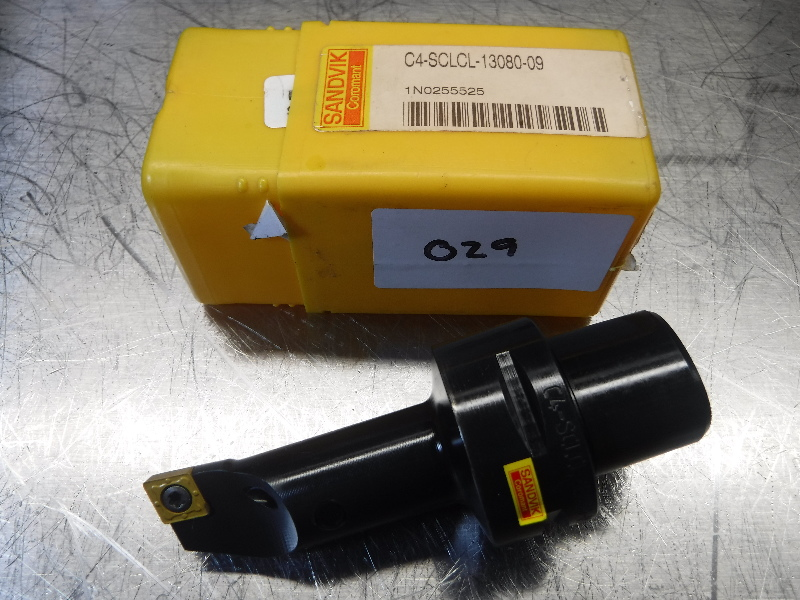 Sandvik Capto C4 CoroTurn Indexable Turning Head C4-SCLCL-13080-09 (LOC2866A)