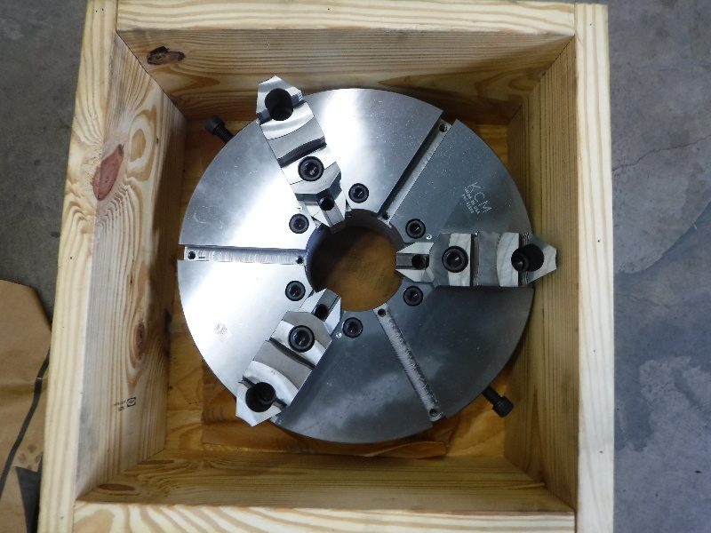 "KCM 18"" 3 Jaw Lathe Chuck 41803 (stock)"