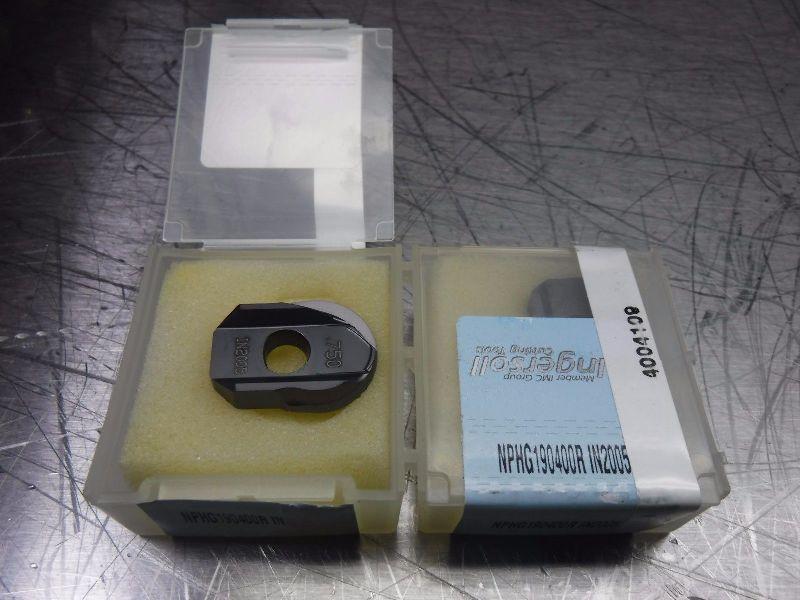 Qty: 2 Ingersoll Carbide Drill Tip Inserts NPHG190400R IN2005 (LOC1990A)