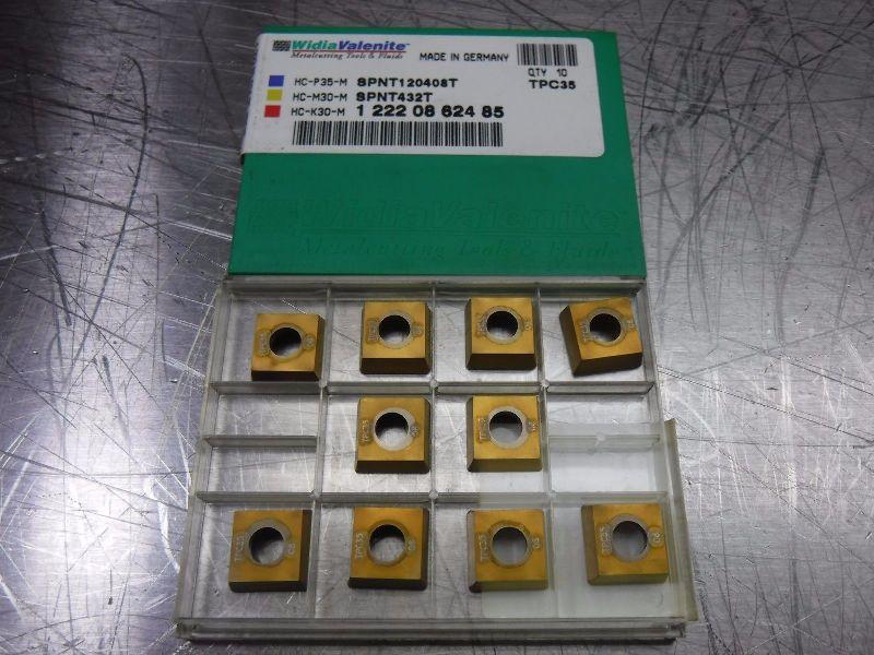 Walter Carbide Inserts QTY10 SPNT120408T TPC35 (LOC1990A)