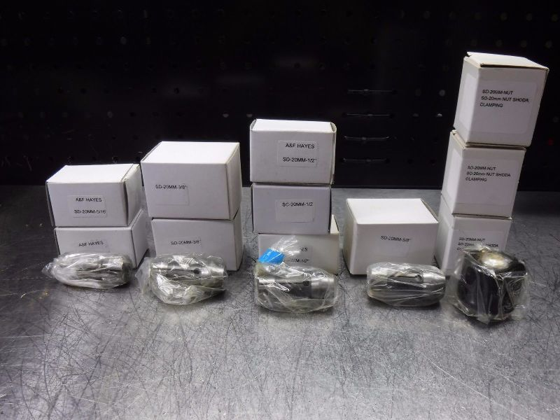 A&F Hayes SD Collet Set Kit Various Capacities (LOC2025B)