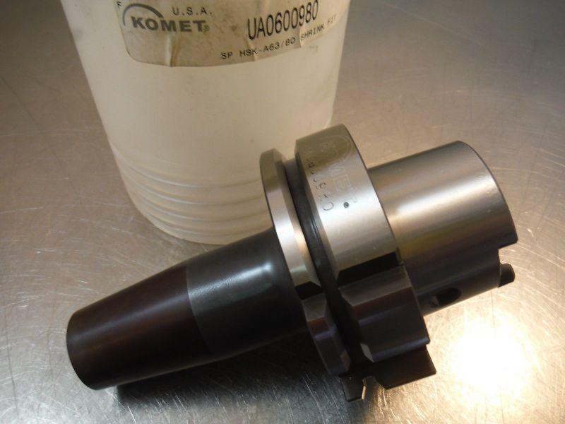 """Komet HSK 63A / 80 5/8"""" Shrink Fit Endmill Holder 4"""" PRO UA0600980 (LOC2139B)"""
