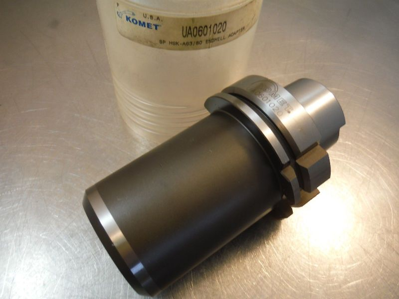 "Komet HSK A63/80 1"" Endmill Holder 4.25"" PRO UA0601020 (LOC2139B)"