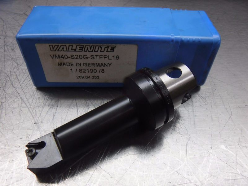 "Valenite VM40 Indexable Boring Head 3.5"" Projection VM40-S20G-STFPL16 (LOC1775)"