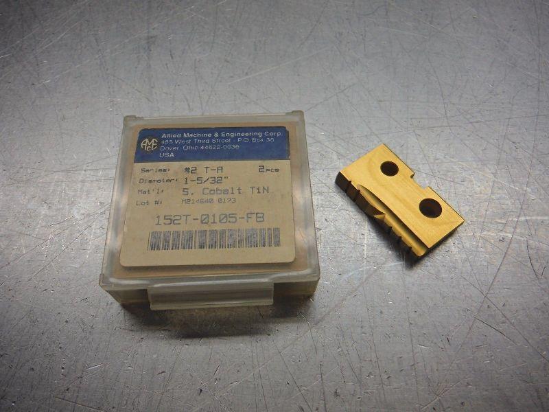 """AMEC Series #2 TA 1-5/32"""" Spade Drill Inserts Qty2 152T 0105 FB (LOC1085B)"""