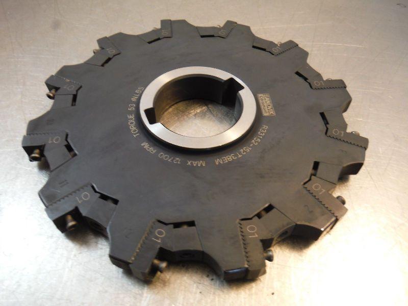 "Sandvik 6"" Slot Milling Cutter 1.5"" Arbor Half R331.52-152T38EM  (LOC2115A)"