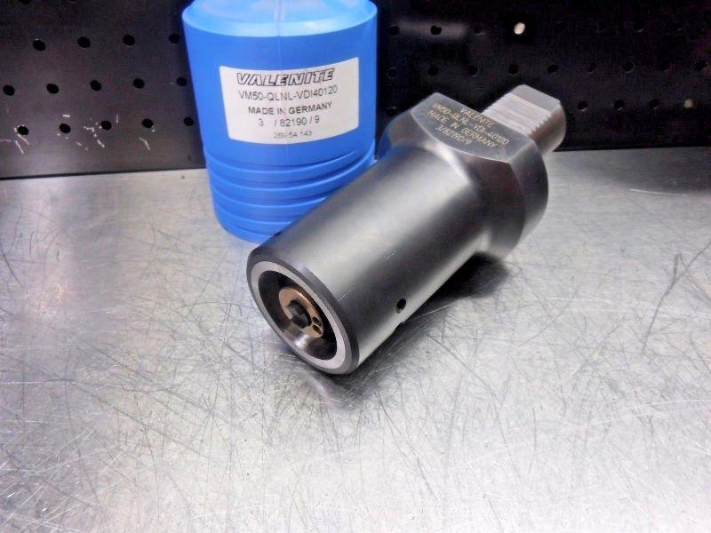 Valenite VDI40 to KM50 Clamping Unit VM50-QLNL-VDI4070 (LOC1216A)