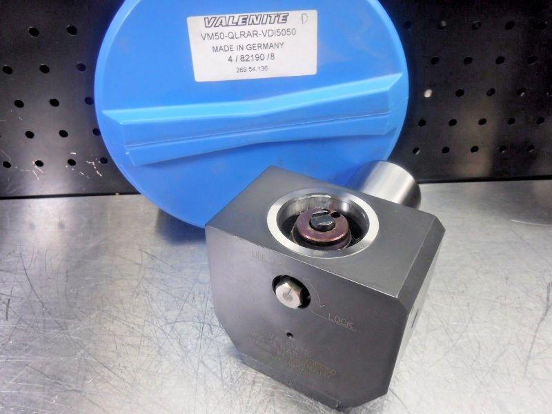 Valenite VM50 Clamping Unit VM50-QLRAR-VDI5050 (LOC1201A)