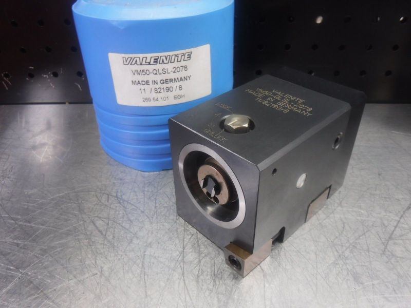 Valenite VM50 Clamping Unit VM50-QLSL-2078 (LOC1201B)