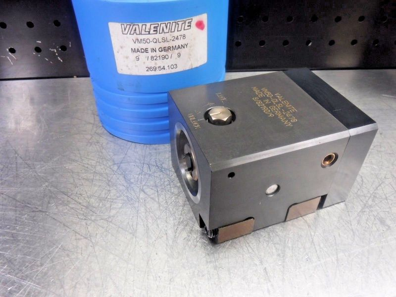 Valenite VM50 Clamping Unit VM50-QLSL-2478 (LOC1203C)