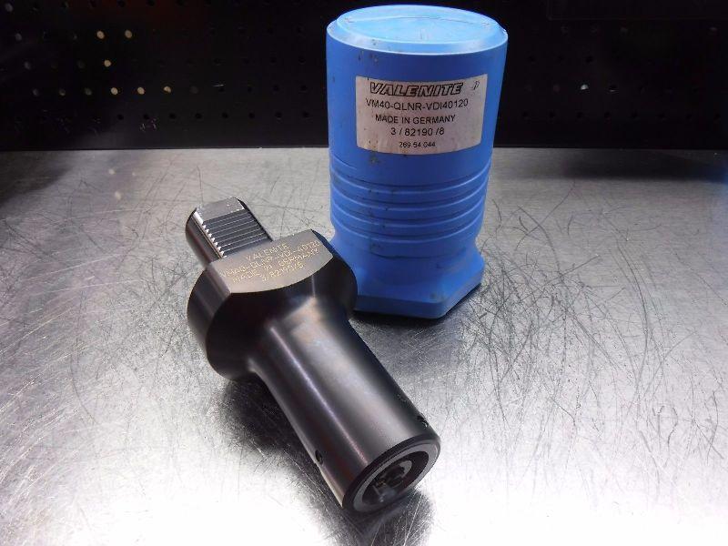 Valenite VDI40 to KM40 Clamping Unit VM40-QLNR-VDI40120 (LOC981B)