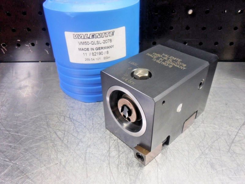 Valenite VM50 Clamping Unit VM50-QLSR-2078 (LOC1203A)