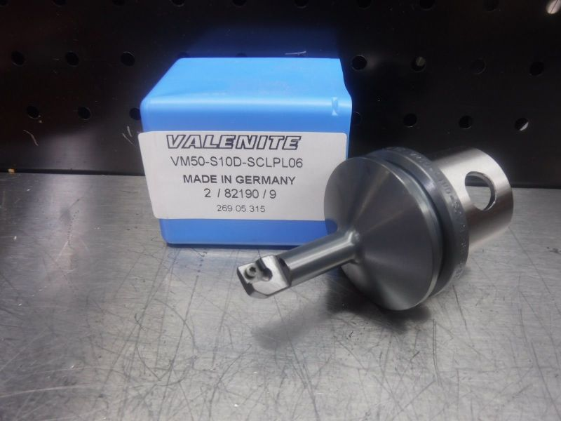 Valenite VM50 Steel Boring Bar Head VM50-S10D-SCLPL06 (LOC1204B)