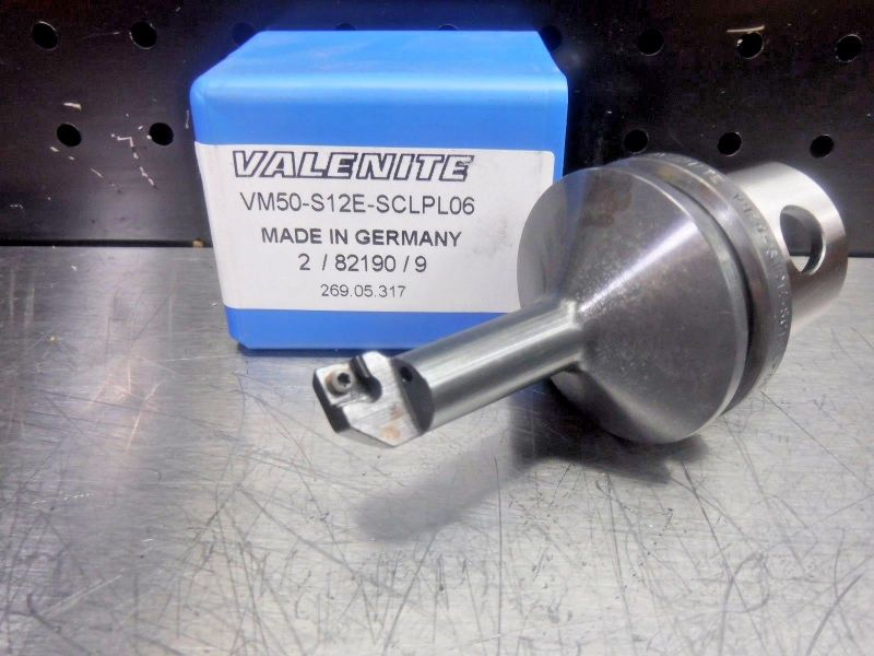 Valenite VM50 Steel Boring Bar Head VM50-S12E-SCLPL06 (LOC1205A)