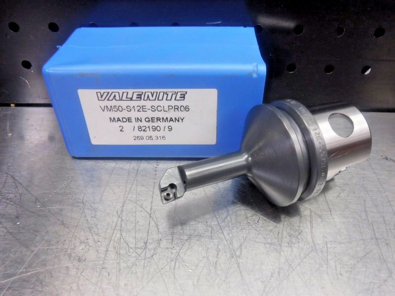 Valenite VM50 Steel Boring Bar Head VM50-S12E-SCLPR06 (LOC1205A)