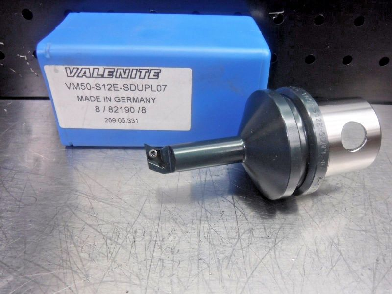 Valenite VM50 Steel Boring Bar Head VM50-S12E-SDUPL07 (LOC1205B)