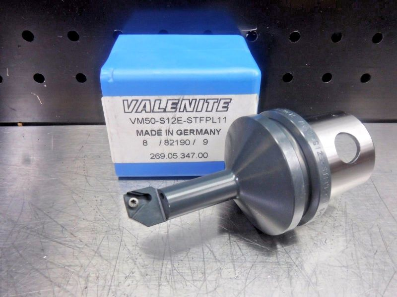 Valenite VM50 Steel Boring Bar Head VM50-S12E-STFPL11 (LOC1205B)