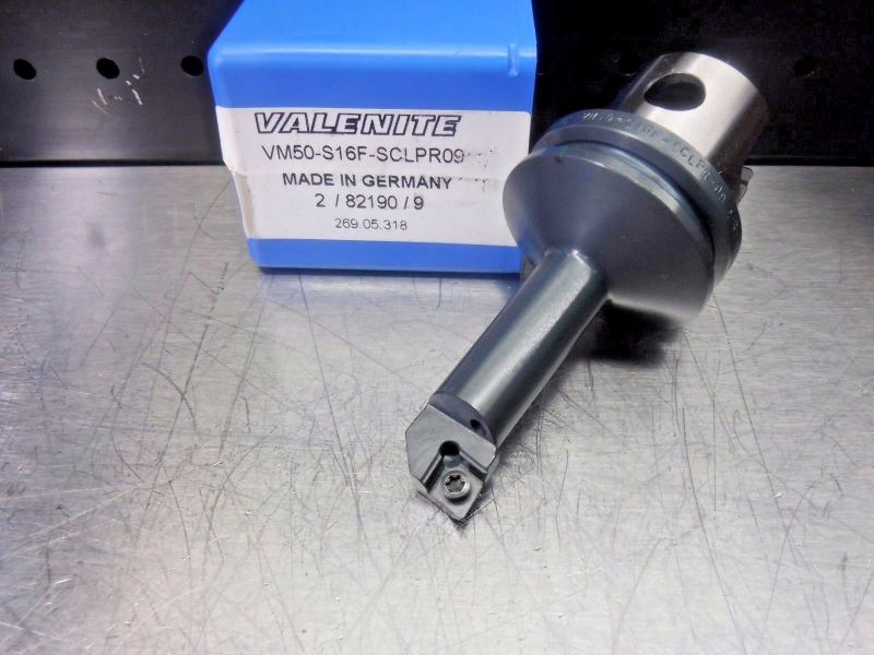 Valenite VM50 Steel Boring Bar Head VM50-S12F-SCLPR09 (LOC1231A)