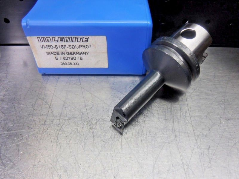 Valenite VM50 Steel Boring Bar Head VM50-S16F-SDUPR07 (LOC1231A)