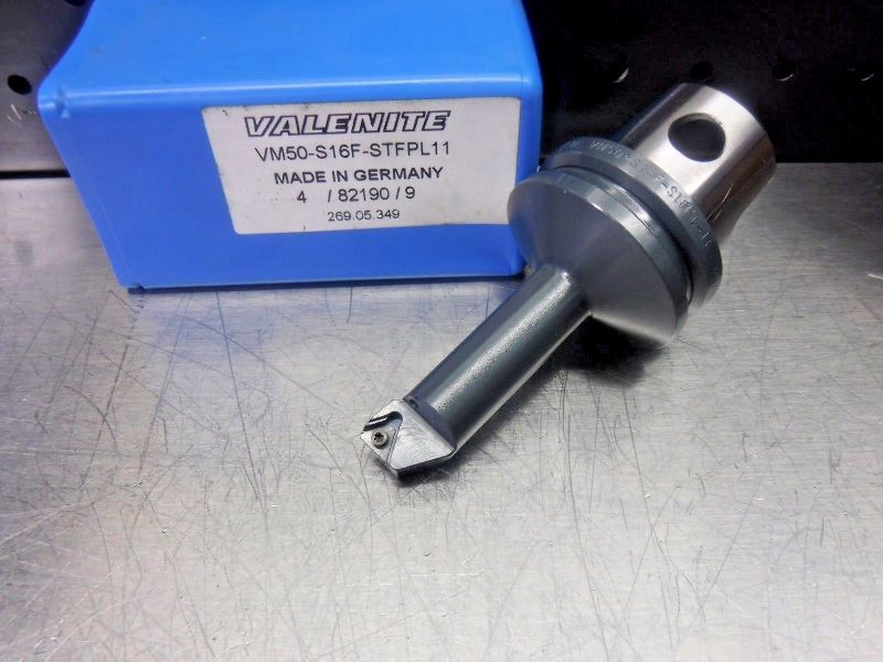 Valenite VM50 Steel Boring Bar Head VM50-S16F-STFPL11 (LOC1231A)