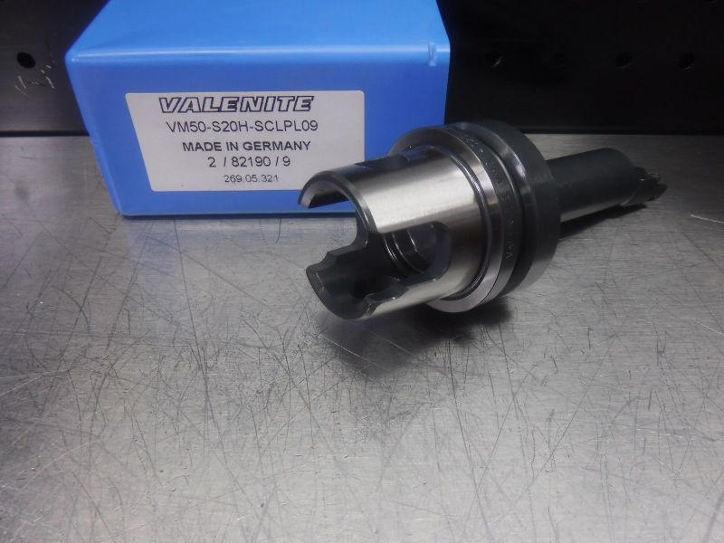 Valenite VM50 Steel Boring Bar Head VM50-S20H-SCLPL09 (LOC1231B)