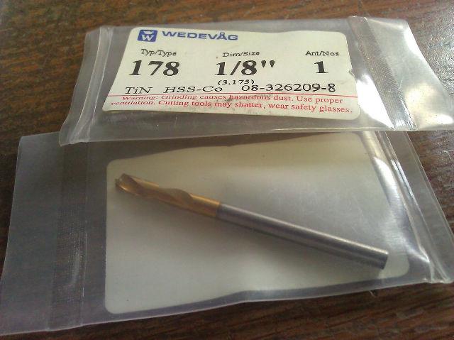 "WEDEVAG 1//8/"" 82d HSCO SPOTTING DRILL"