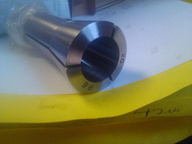 """.7874"""" 20mm R8 Round Collet"""