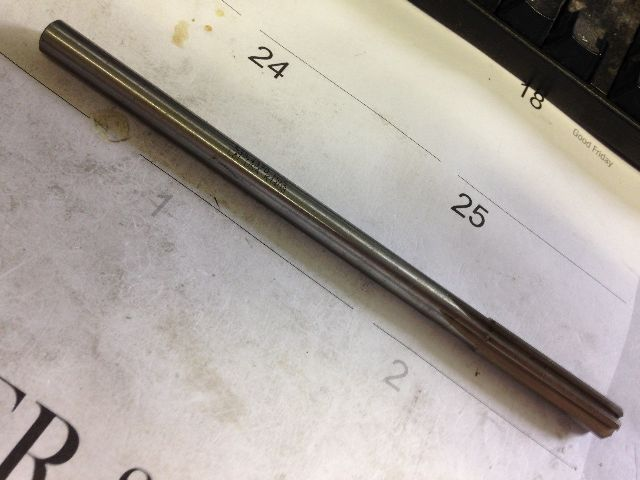 ".4370"" Dowel Pin HIGH SPEED STEEL CHUCKING REAMER"