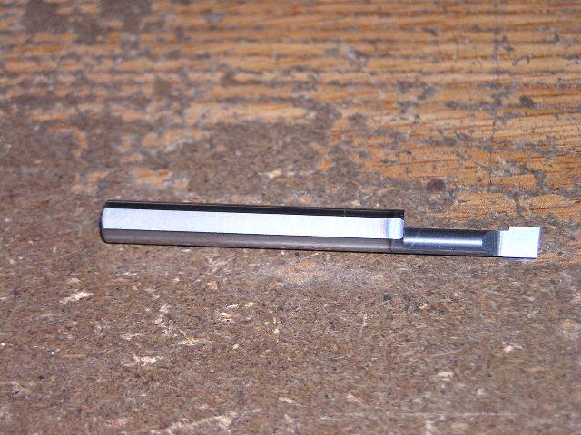 "1/4"" Solid Carbide Boring Bar ABB-180350 TiAlN .180"" Minimum Bore"
