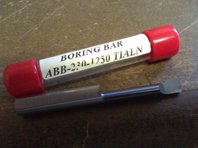 "New 5//16/"" Solid Carbide Boring Bar ABB-2301000 TiAlN .230/"" Minimum Bore"